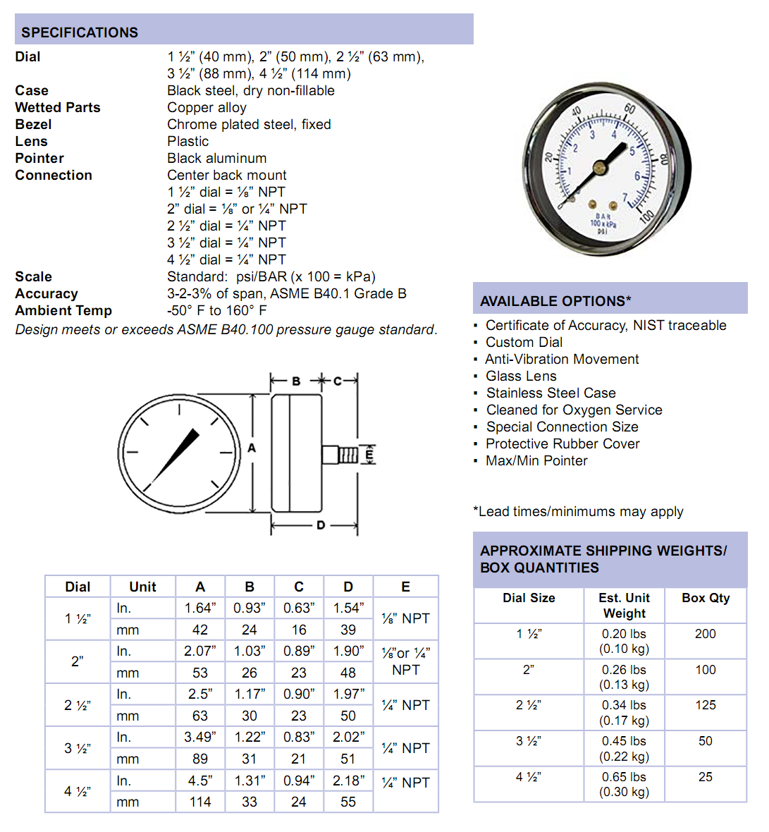 102d-utility-gauge-center-back-mount-specifications