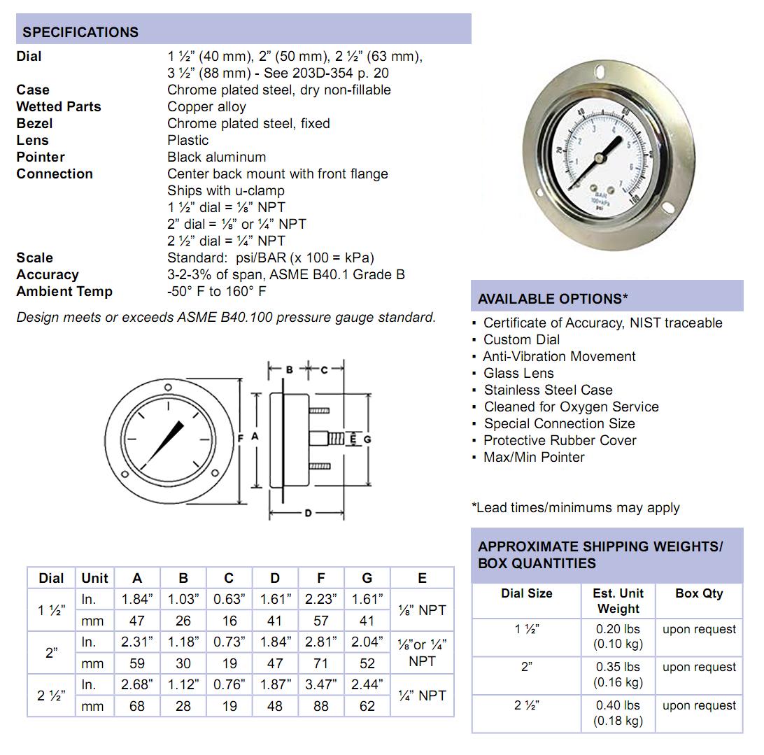 104d-utility-gauge-front-flange-panel-mount-specifications