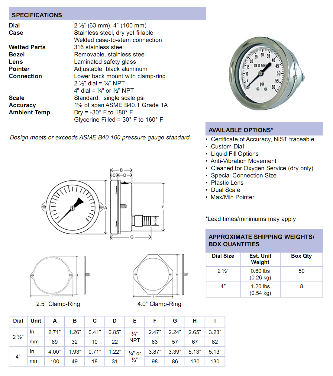 313d-all-stainless-clamp-ring-panel-mount-specifications