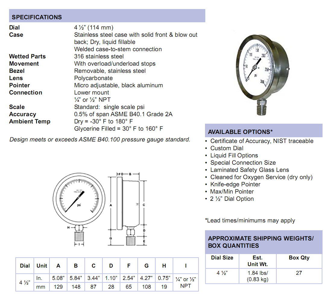 4501-sc-all-stainless-process-gauge-specifications