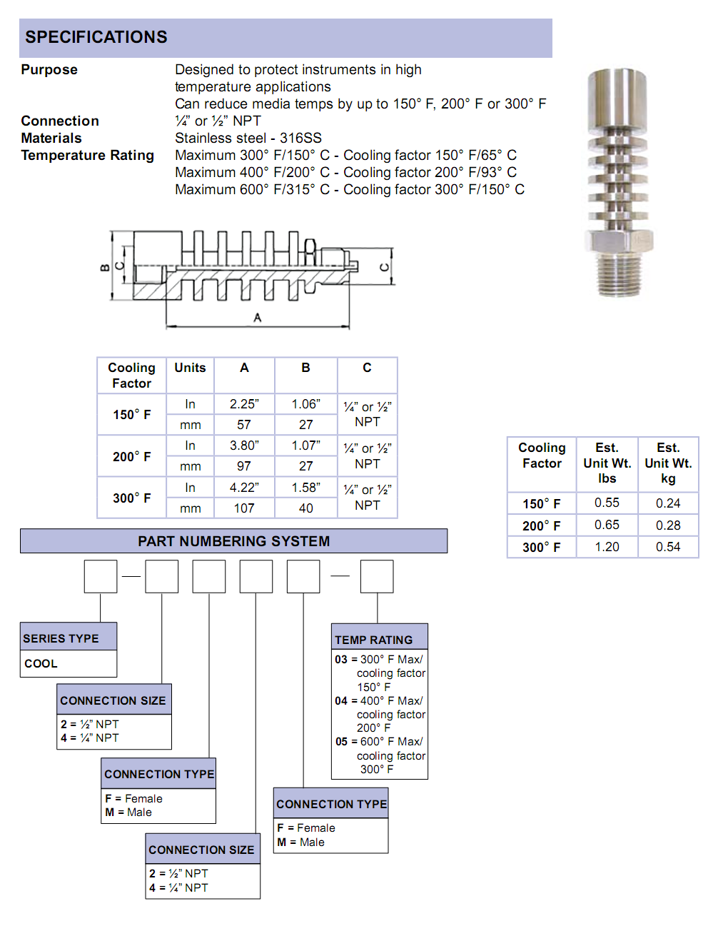 cooling-tower-specifications