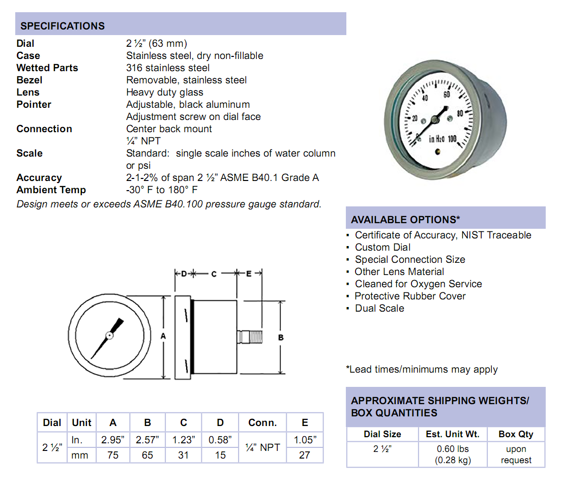 lp2-ss-low-pressure-all-stainless-specifications