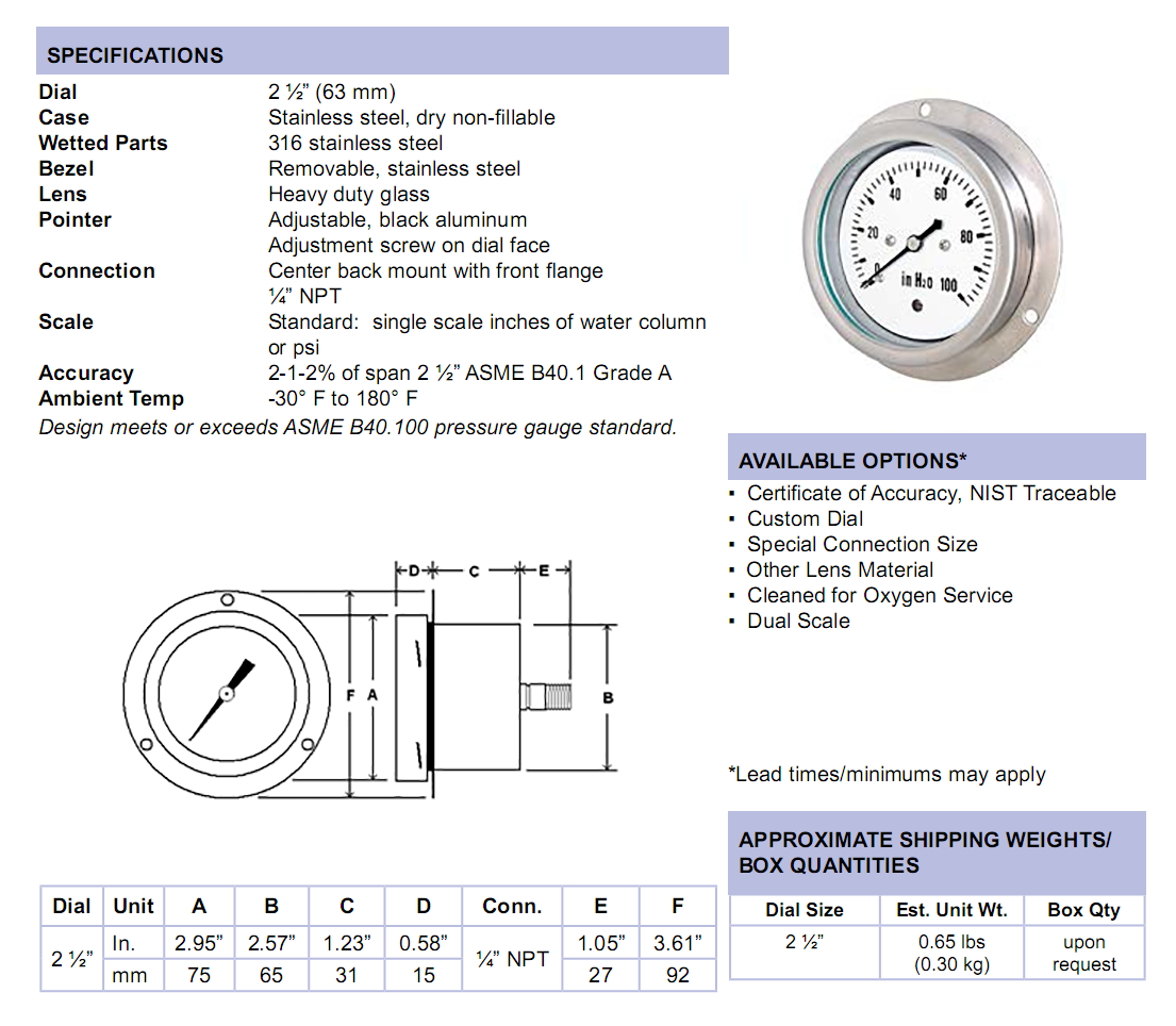 lp4-ss-low-pressure-stainless-steel-case-specifications